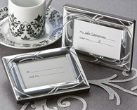 Cheap Wedding Favors - Artisano Designs Double Ring Romance Mini Photo Frame / Place Card Holder. Place Card Holders to make your day special.
