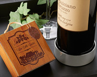 Wedding Party Favors - Artisano Designs Vineyard Estate Wine Bottle Coaster. Coaster Favors to make your day special.