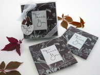Wedding Favors Canada - Artisano Designs Falling Leaves Leaf Themed Glass Photo Coasters (Set of 2). Coaster Favors to make your day special.