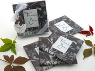 Wedding Favors Canada - Artisano Designs Falling Leaves Leaf Themed Glass Photo Coasters (Set of 4). Coaster Favors to make your day special.