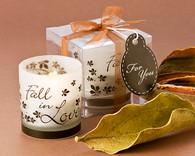 Wedding Favors - Artisano Designs Fall in Love Tea Light Candle Holder (Pack of 4)   . Candle Wedding Favors to make your day special.
