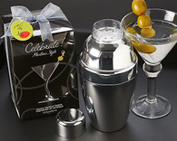 Wedding Gifts  - Artisano Designs Celebrate! Martini Style Cocktail Shaker Set. Wedding Favors to make your day special.