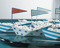 Wedding Favours - Weddingstar Metal Boats. Place Card Holders to make your day special.