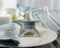 Wedding Favours - Weddingstar Small Wooden Starfish Photo Frames. Place Card Holders to make your day special.