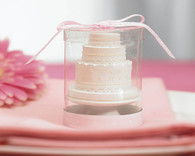 Wedding Favors Canada - Weddingstar Elegant Lace Wedding Cake Candle. Candle Wedding Favors to make your day special.