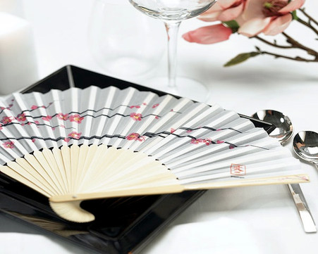 Wedding Favors - Weddingstar Cherry Blossom Hand Fans. Hand Fans to make your guests cool and in style.