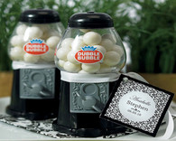 Wedding Party Favors - Weddingstar Mini Classic Black Gumball Dispenser. Gumball Dispensers to add the perfect finishing touch to your wedding.