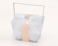Wedding Favor Boxes - Weddingstar Asian Take Out Boxes ??Frosted Acetate. Wedding Favor Boxes to add the perfect finishing touch to your wedding.