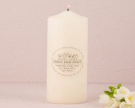 Wedding Decoration - Weddingstar Interchangeable Family Crest Personalized Unity Candle
