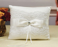 Wedding Decorations - Weddingstar Beverly Clark French Lace Collection Ring Pillow
