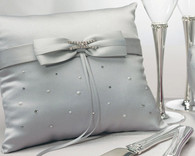 Wedding Ceremony - Weddingstar Platinum By Design Square Ring Pillow