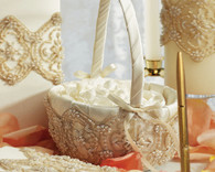 Wedding Ideas - Weddingstar Beverly Clark The Luxe Collection Flower Girl Basket