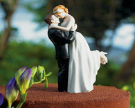 Wedding Cake Toppers - Weddingstar True Romance Couple Figurine Light Skin Tone