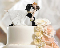 "Wedding Cake Toppers - Weddingstar ""A Romantic Dip"" Dancing Bride and Groom Couple Figurine"
