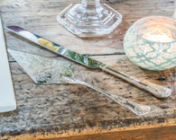 Wedding Reception Ideas - Weddingstar Vintage Inspired Silver Cake Serving Set