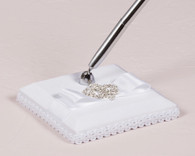 Wedding Reception - Weddingstar Beverly Clark The Crowned Jewel Collection Pen with Base