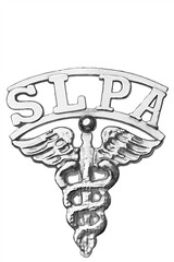 Speech Language Pathologist Assistant SLPA pins for graduation