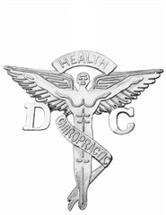 Doctor of chiropractic medicine DC pins for pinning ceremony