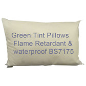 FR Waterproof Pillows (Green Tint)