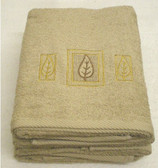 Laura Leaf Embroidered Towels