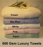 15% OFF on 600 gsm Luxury Bath Towels