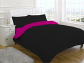 Reversible Duvet Cover Set - 3 Piece (Duvet Cover, Fitted Sheet & Pillowcases)