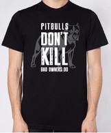Pitbulls Don't Kill Unisex T-Shirt