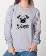 Pugaholic Unisex Long Sleeve T-Shirt