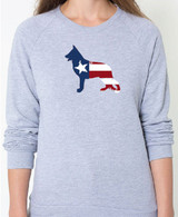 Righteous Hound - Unisex Patriot German Shepherd Sweatshirt