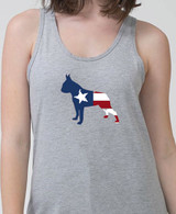 Righteous Hound - Unisex Splatter Boston Terrier Tank