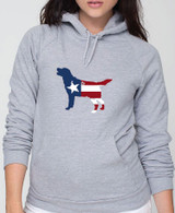 Righteous Hound - Unisex Patriot Lab Hoodie