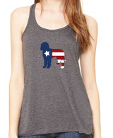 Righteous Hound - Flowy Patriot Goldendoodle Tank