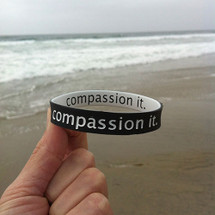 Compassion It Wristbands