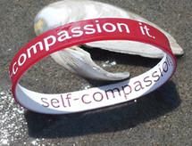 Self-Compassion It Wristbands
