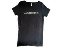 Black Scoop Neck T-Shirt