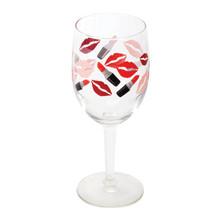 2-Piece Lipstick Wine Glasses, 10 oz.