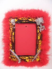 Skeleton Picture Frame