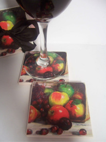 2- Piece Fruit Beverage Coast Set