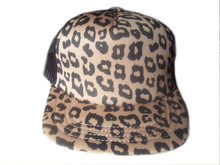 NEW! Leopard Print Women's Cap