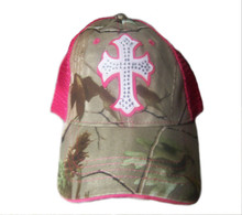 NEW! Pink Cross Women's Cap