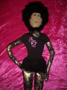 "LIFE SIZE DOLL!!!!!!, 4ft. 11 inches. ""Black Coffee"", Dolly Dames"