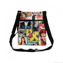 NEW! Magazine Collage Crossbody/Fannypack