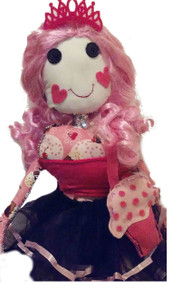 Valentine's Day Girl Doll/ Hug doll