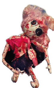 Creepy Gothic Zombie Valentine's Day Doll/Horror Valentine