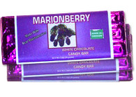 MARIONBERRIES & WHITE CHOCOLATE - 3 bars