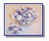 -Schooner Pete's Huckleberry Salt Water Taffy - 5 lbs