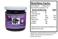 NORTHWEST BERRY GROWERS FRUIT-SWEETENED SEEDLESS MARIONBERRY PRESERVES - 10 oz. jar