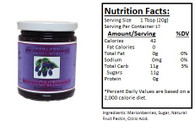 NORTHWEST BERRY GROWERS OREGON MARIONBERRY W/SEEDS - 12 oz.jar