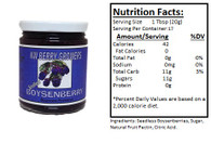 NORTHWEST BERRY GROWERS SEEDLESS BOYSENBERRY - 12 oz.jar