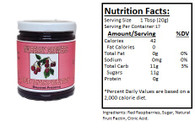 NORTHWEST BERRY GROWERS OREGON RED RASPBERRY - 12 oz.jar